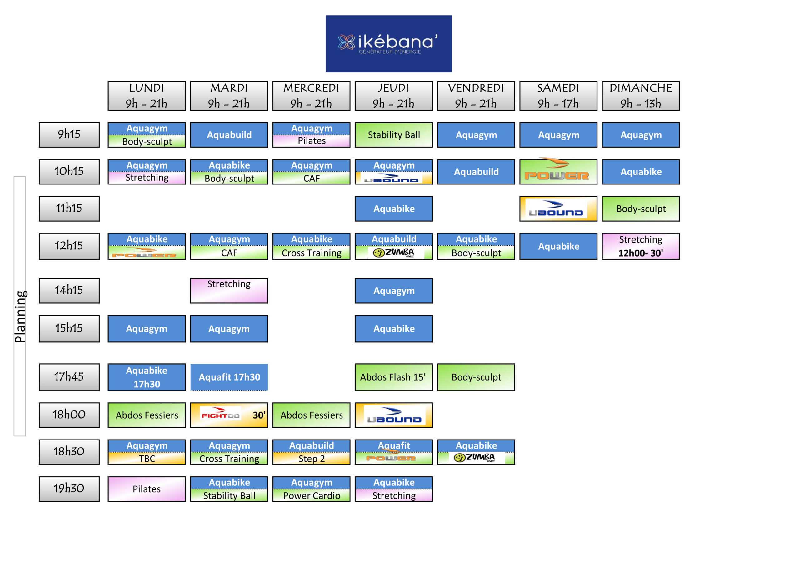 Planning ikébana